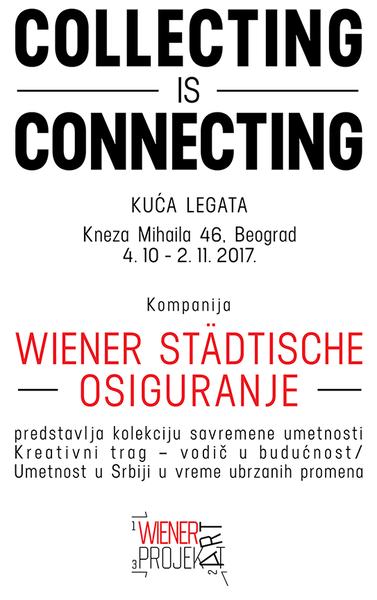 "Kolekcija savremene srpske umetnosti ""Collecting is Connecting"""