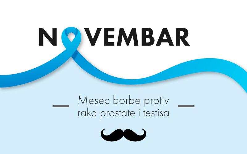 Novembar – mesec borbe protiv raka prostate i testisa