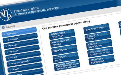 APR: Od 1. januara 7.358 privremenih prekida obavljanja delatnosti
