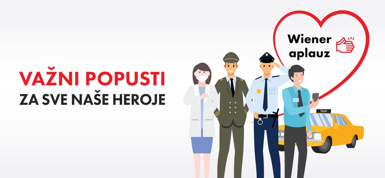Wiener aplauz - za sve naše heroje