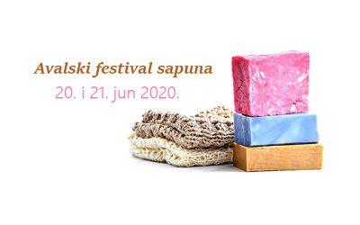 Izložba ručno rađenih sapuna, 20. i 21. jun, Avalski toranj