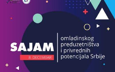 Onlajn Sajam omladinskog preduzetništva i privrednih potencijala Srbije 8. decembra
